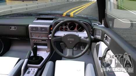 Mazda RX-7 FC3S для GTA San Andreas вид изнутри