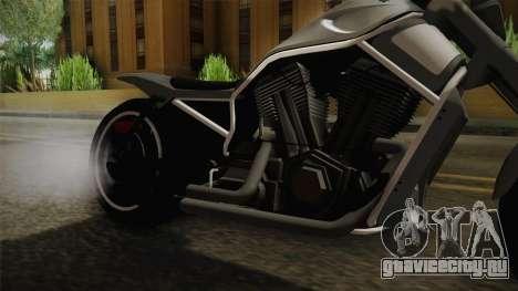 GTA 5 Western Nightblade для GTA San Andreas вид изнутри