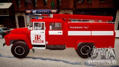 ЗиЛ 130 AЦ 40 для GTA 4 вид слева