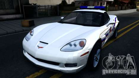 Chevy Corvette Z06 Hometown PD 2006 для GTA San Andreas