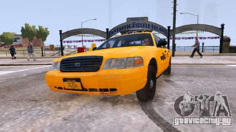 Taxi Nyc для GTA 4