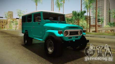 Toyota Land Cruise FJ40 Chasis Largo 1978 для GTA San Andreas