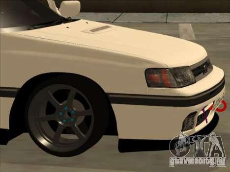 Subaru Legacy DRIFT JDM 1989 для GTA San Andreas вид изнутри