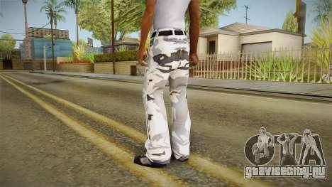 Трико зимний камуфляж для GTA San Andreas второй скриншот