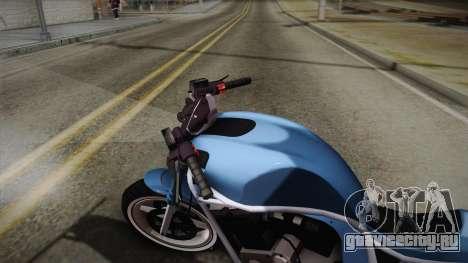 GTA 5 Shitzu Defiler для GTA San Andreas вид сзади слева