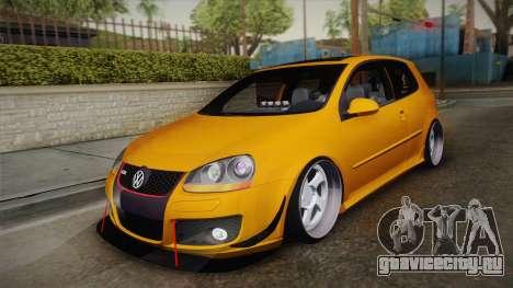 Volkswagen Golf 5 Stance для GTA San Andreas
