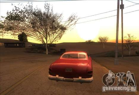ENBSeries v0.074 for Low PC для GTA San Andreas третий скриншот