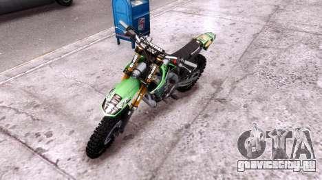 Kawasaki KX450F для GTA 4