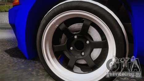 Nissan Skyline GTR32 Rocket Bunny для GTA San Andreas вид сзади слева