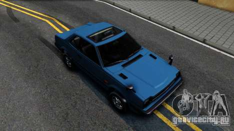 Honda Prelude 1980 для GTA San Andreas вид справа