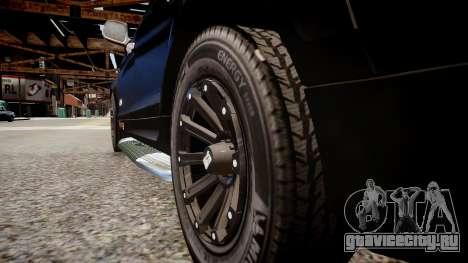 Audi Q7 CTI для GTA 4 вид сзади