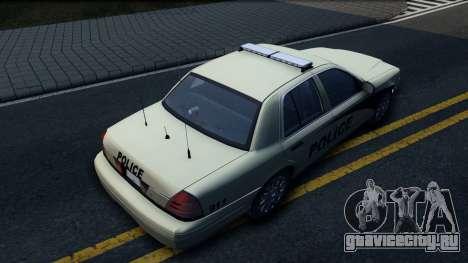 Ford Crown Victoria Generic 2010 для GTA San Andreas вид сзади