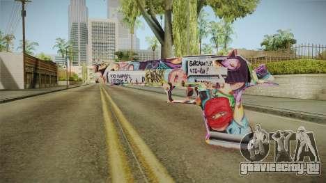 Colorful Desert Eagle для GTA San Andreas второй скриншот