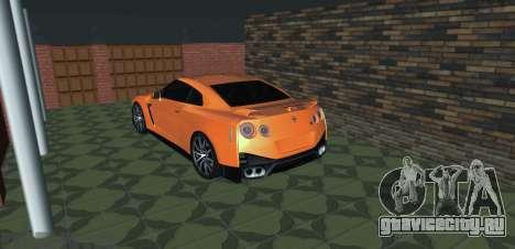 Nissan GT-R 35 Рестайлинг для GTA San Andreas вид слева