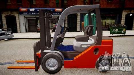 Toyota Forklift (v2.0) для GTA 4 вид слева