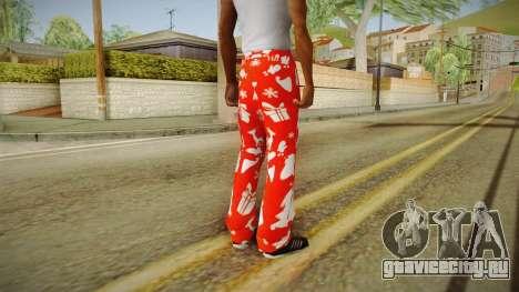 Новогоднее трико для GTA San Andreas второй скриншот