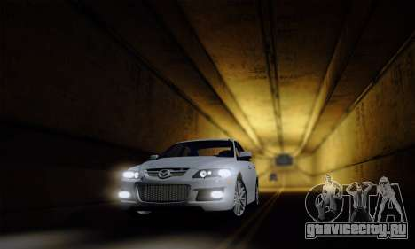 Mazda 6 MPS для GTA San Andreas вид сбоку
