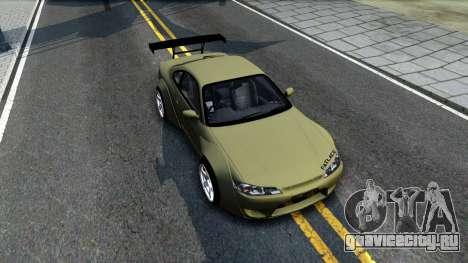 Nissan Silvia S15 Rocket Bunny для GTA San Andreas вид справа
