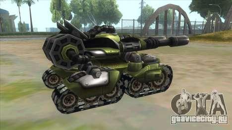 New RC Tiger для GTA San Andreas вид справа