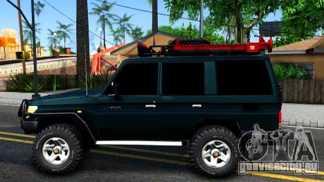 Toyota Land Cruiser 70 Off-Road V1.0 для GTA San Andreas вид слева