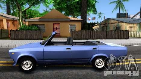 ВАЗ 2105 кабриолет V2 для GTA San Andreas