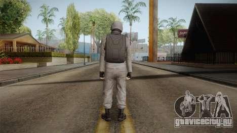 GTA Online Military Skin Grey-Gris для GTA San Andreas