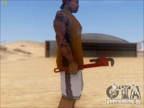 GTA 5 Pipe Wrench для GTA San Andreas