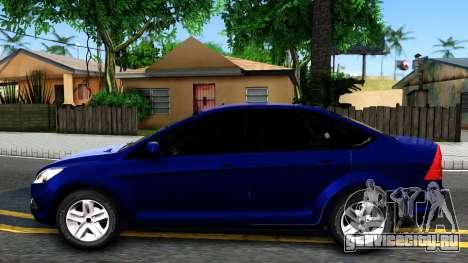 Ford Focus Sedan 2009 IVF для GTA San Andreas вид слева