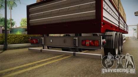 Bort Job Trailer для GTA San Andreas вид изнутри