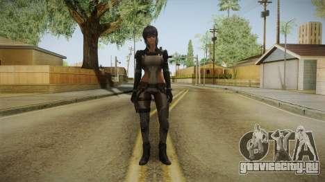 Ghost In The Shell First Assault - Motoko v2 для GTA San Andreas второй скриншот