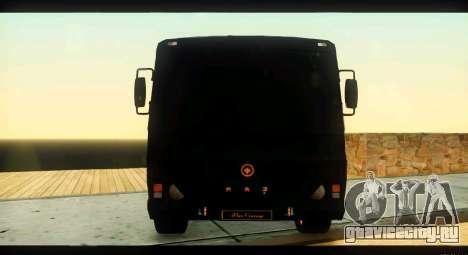 ПАЗ 4234 Elite Gold для GTA San Andreas вид сверху