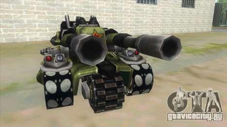 New RC Tiger для GTA San Andreas вид сзади