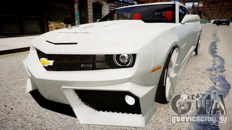 Chevrolet Camaro VR для GTA 4 вид сзади слева