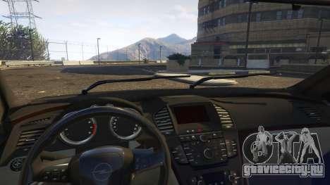 Opel Vectra A для GTA 5 вид справа