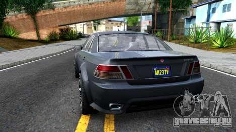 GTA V Ubermacth Sentinel Sedan для GTA San Andreas