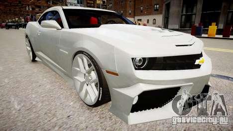 Chevrolet Camaro VR для GTA 4