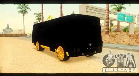 ПАЗ 4234 Elite Gold для GTA San Andreas вид справа