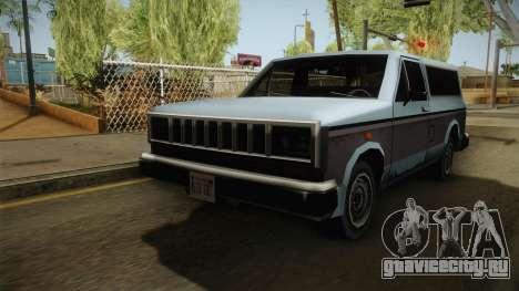 Bobcat XL для GTA San Andreas вид сзади слева