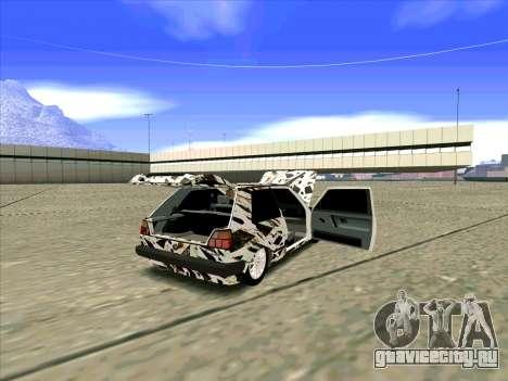 Volkswagen Golf Mk1 для GTA San Andreas вид слева