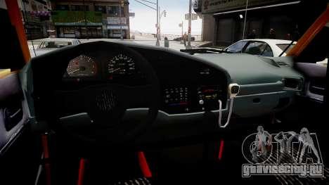 Nissan Zamyad для GTA 4 вид изнутри
