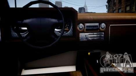 Steed Mod для GTA 4 вид изнутри