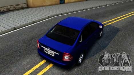 Ford Focus Sedan 2009 IVF для GTA San Andreas вид сзади