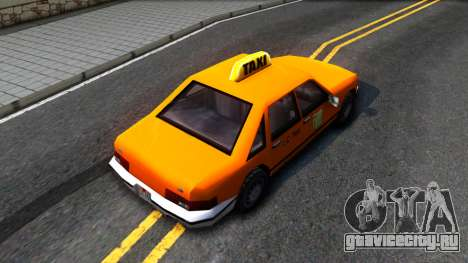 Taxi From LCS для GTA San Andreas вид сзади