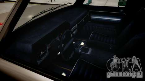 Bobcat Chevrolet для GTA 4 вид изнутри