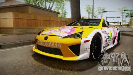 Lexus LFA Beatrice The Orange of ReZero для GTA San Andreas