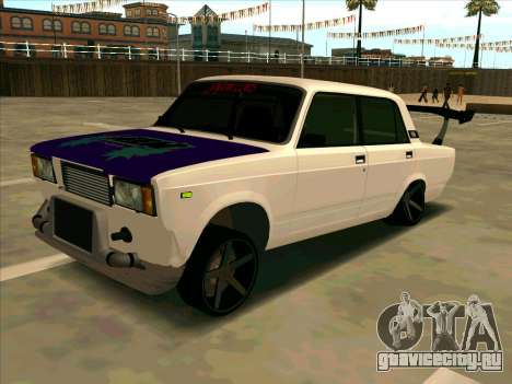 VAZ-2107 Azelow для GTA San Andreas