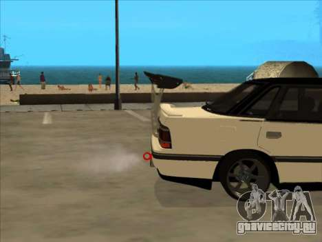Subaru Legacy DRIFT JDM 1989 для GTA San Andreas вид сзади слева