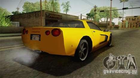 Declasse Coquette 2002 для GTA San Andreas вид слева