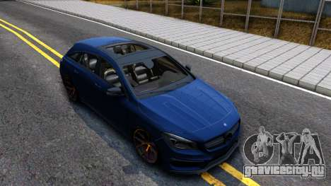 Mercedes-Benz CLA 45 AMG Shooting Brakes Boss для GTA San Andreas вид справа