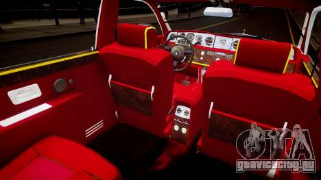 Rolls-Royce Phantom EWB Dragon Edition 2012 для GTA 4 вид изнутри